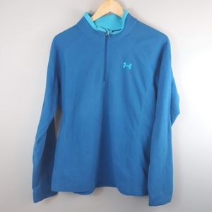 Under Armour  Pullover Fleece 1/4 Zip Blue XL
